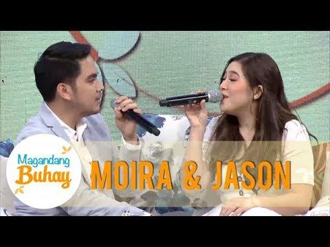 """Magandang Buhay: Moira And Jason Share A Sneak Peek Of Their New Single """"Ikaw At Ako"""""""