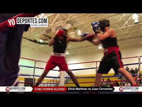 Erick Martinez vs Juan Cervantes CYBC Power Gloves