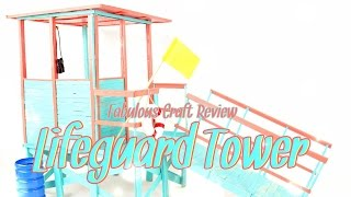 Fabulous Craft Review:  Doll Lifeguard Tower