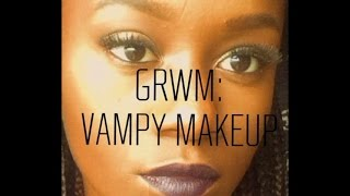 GRWM: Vampy Makeup Look + Pics From Junior Bash  | TDTV
