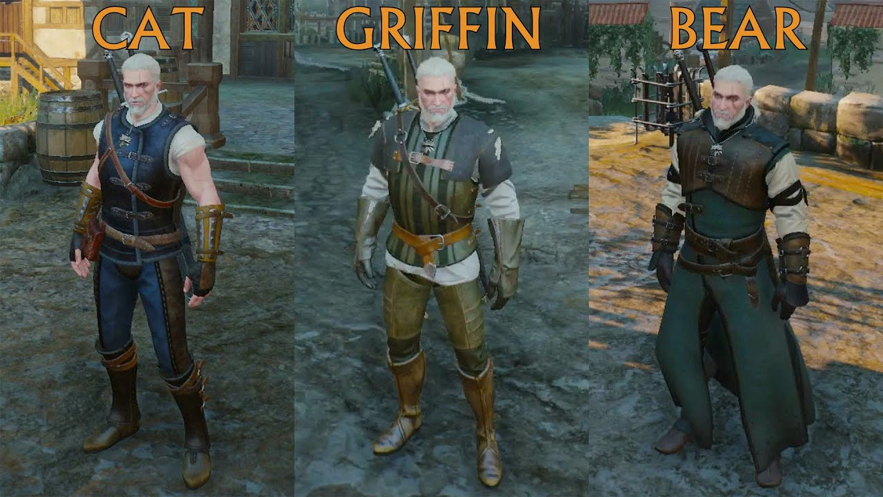 Best Witcher  Griffin Build