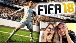 MI PRIMER GAMEPLAY DE FIFA 18 con MI AMIGA! - JoanFerPLAY