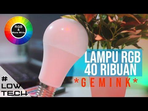 Lampu Rgb Termurah 40rban Dijamin Gemink | #lowtech
