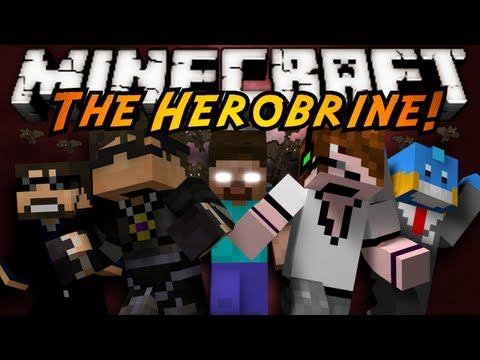 Minecraft Mini-Game : THE HEROBRINE!