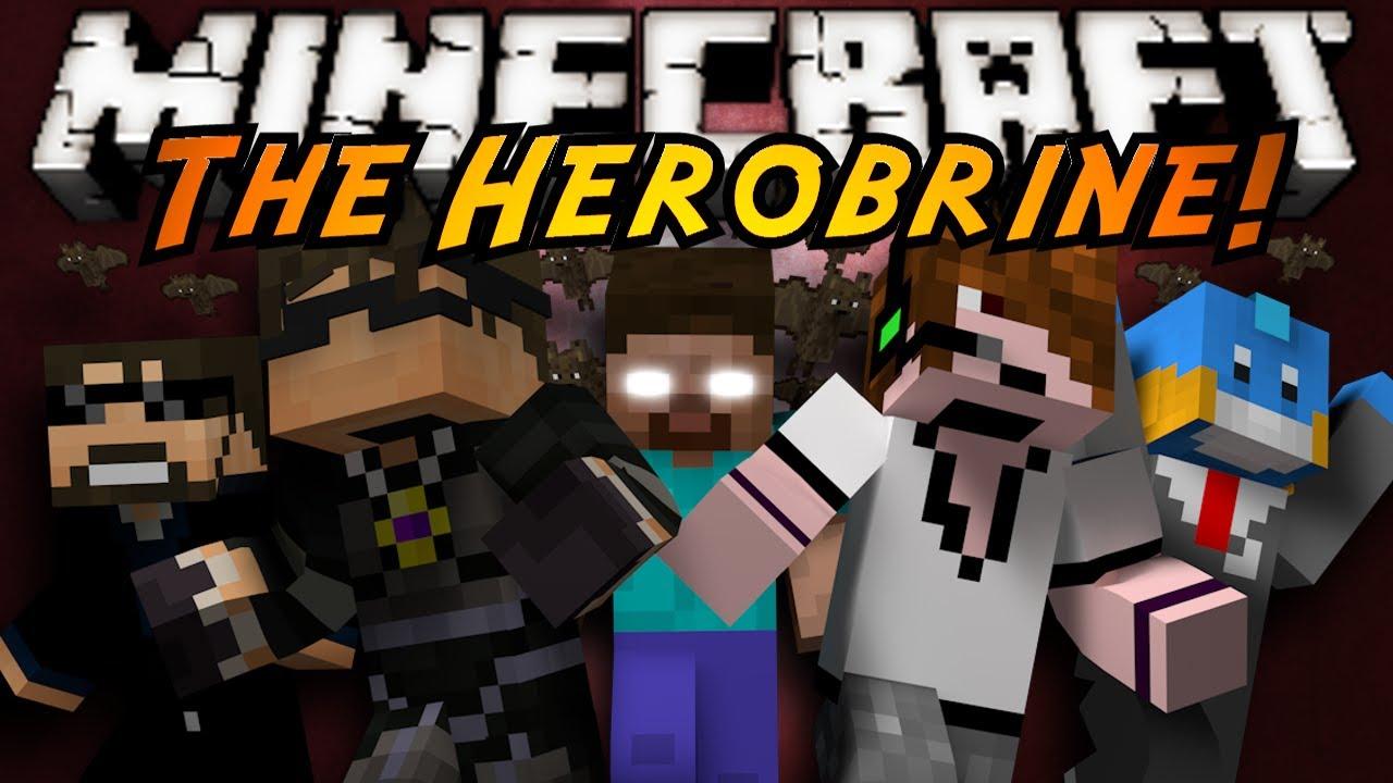 Minecraft MiniGame THE HEROBRINE YouTube - Minecraft herobrine spiele