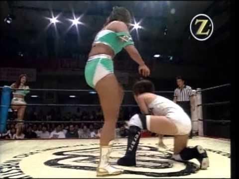 Mima Shimoda , Etsuko Mita vs  Manami Toyota , Toshiyo Yamada
