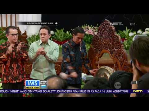 Hari Musik Nasional, Musisi dari Semua Era Berkumpul Bersama Presiden Jokowi di Istana Negara