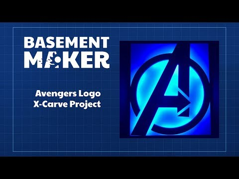 Avengers Logo X-Carve Project