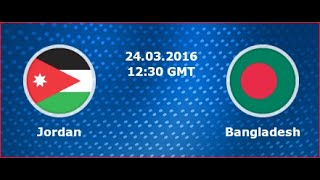 Video Gol Pertandingan Yordania vs Bangladesh