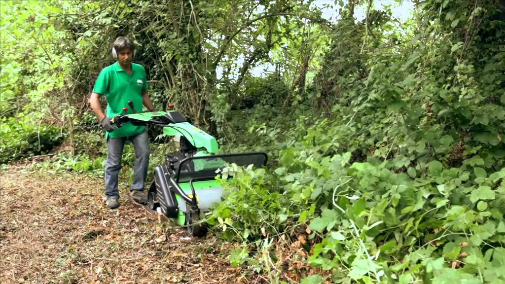 Greenforage Horticulture Video - Pedestrian flail mower