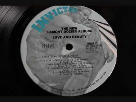 Lamont Dozier ` New Breed Kinda Woman`