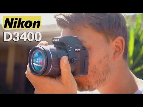 Nikon D3400 Review! (vs D3300/Canon T6)