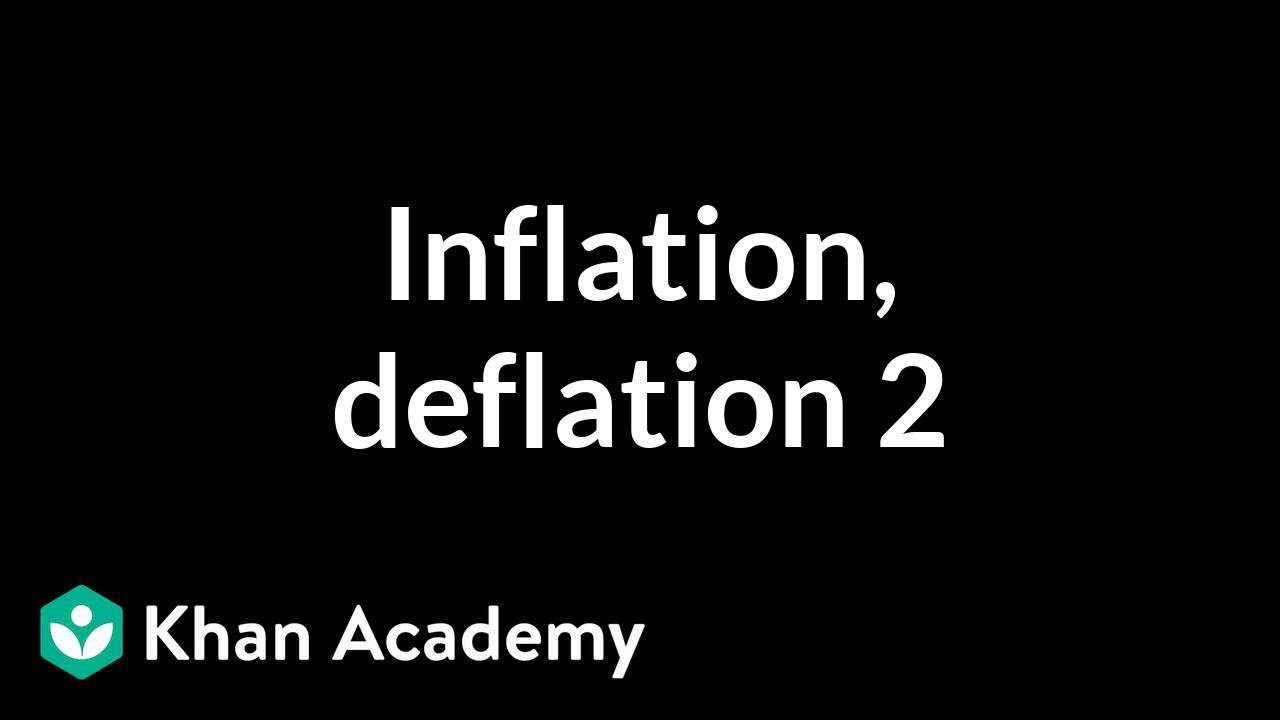 Inflation, deflation, and capacity utilization 2 | Finance & Capital Markets | Khan Academy