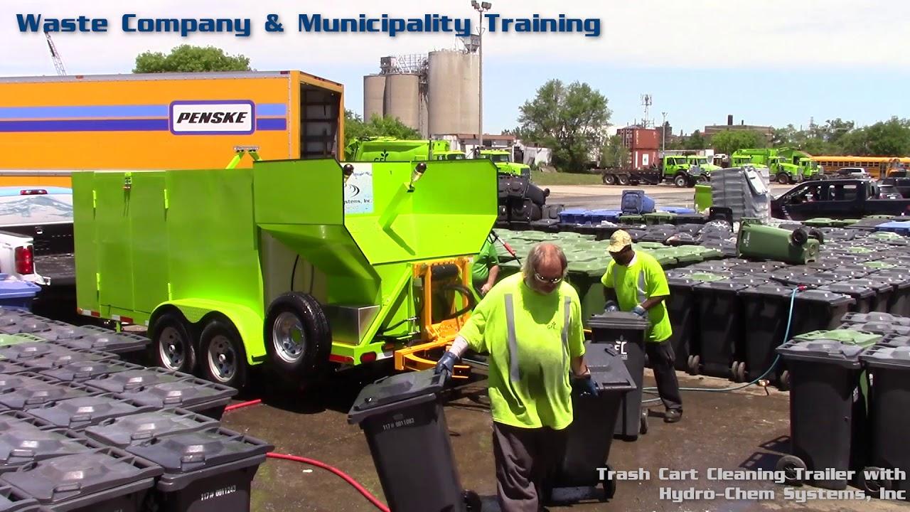 Trash Bin Cleaning Systems | Hydro-Chem Systems, Inc