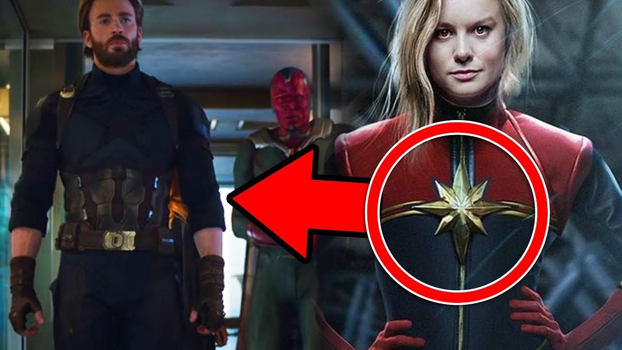 ¿Capitana Marvel Hace Aparición Sorpresa En INFINITY WAR