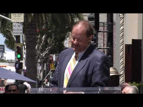 Chris Berman Hollywood Walk of Fame Star Ceremony