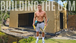 Building The Gym | Ep. 2 *FULL HOME GYM BUILD*