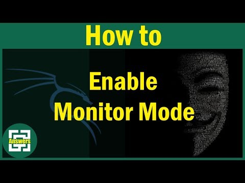 How To Enable Monitor Mode In Kali Linux ?