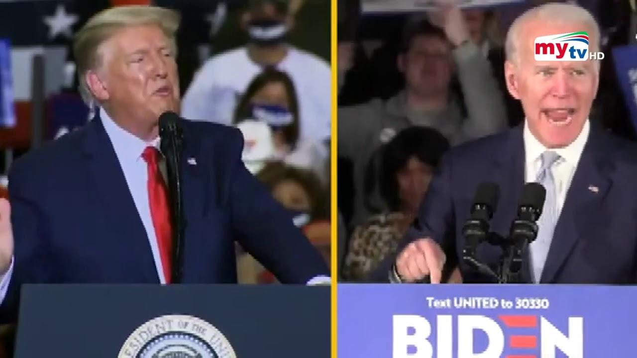 Donald Trump vs Joe Biden   জরিপের ফল কি বলছে ?   Bangla News   Mytv News