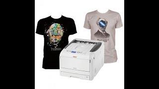 OKI Pro8432WT Digital Transfer T-Shirt Printer