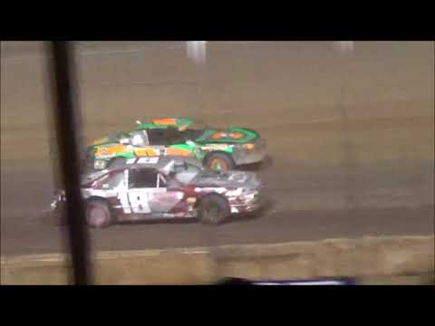 IMCA Stock Car Feature Luxemburg Speedway 6/8/18