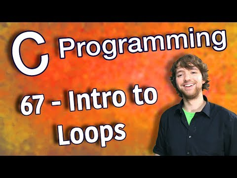 C Programming Tutorial 67 - Intro to Loops thumbnail