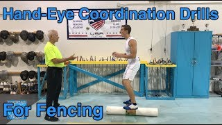 Hand-Eye Coordination Drills For Fencing