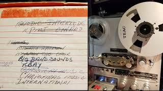 KPMJ FM Oxnard CA Beautiful Easy Listening Music 1969/1970 Reel To Reel Tape [Monoral-Stereo]
