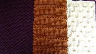 Afghan Tunisian Crochet - Adding Panels