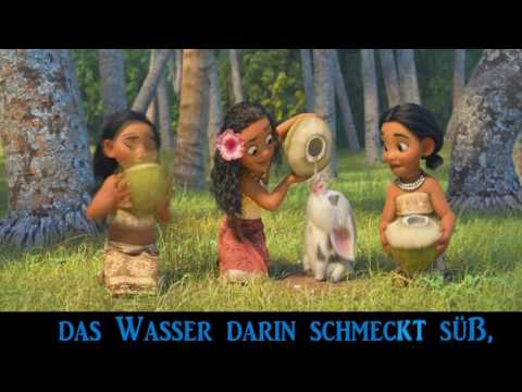 Vaiana - Wo du bist [Full] with Lyrics