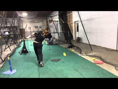 Madison Vogel 8th grade Okaw Valley MS using vflex training