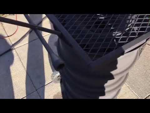 DIY bad ass out door wood burner