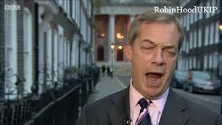 The BBC now blame the Russians for Brexit Nigel Farage says Rubbish