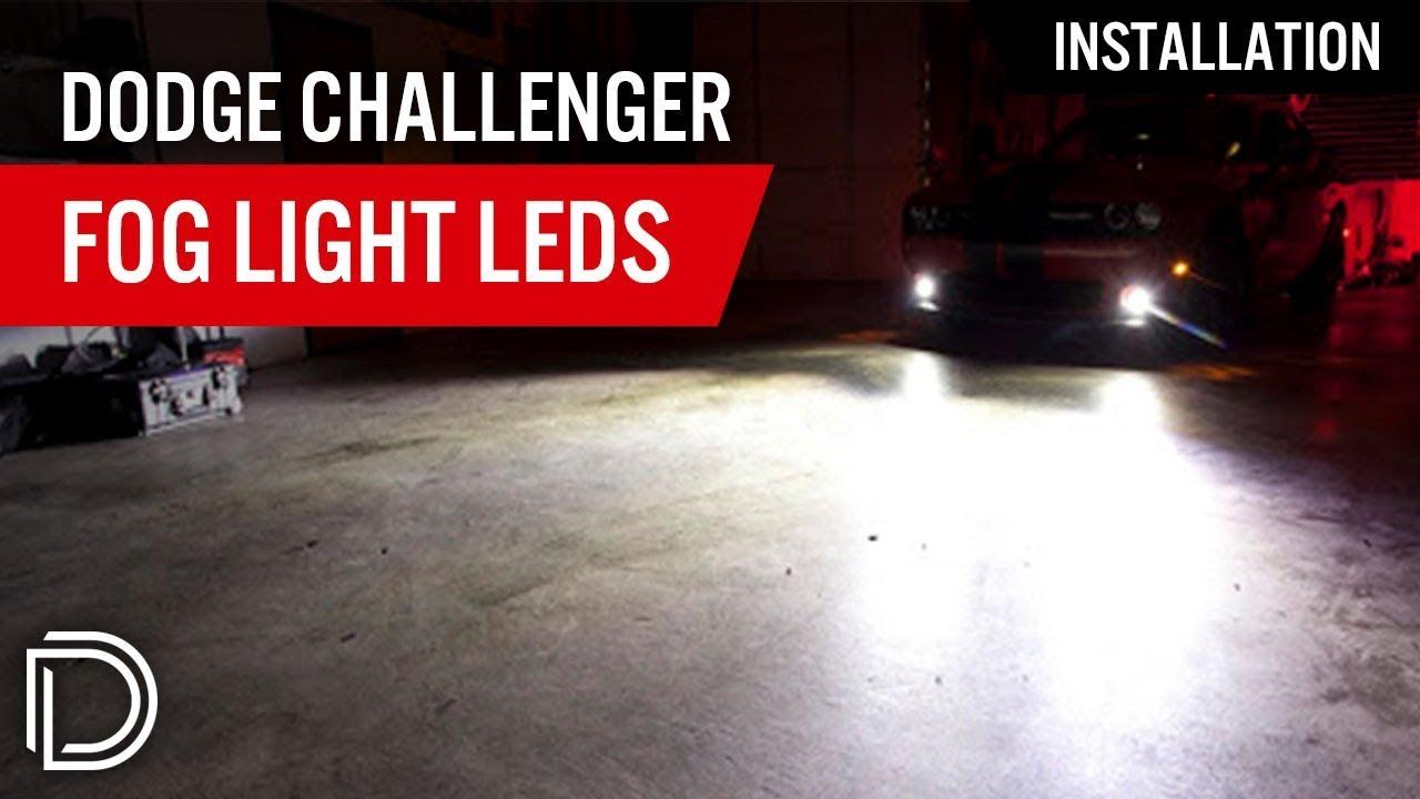 How To Install Dodge Challenger Srt8 Fog Light Leds Youtube 2012 Fuse Box Cover