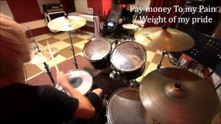 Pay money To my Pain**Weight of my pride [叩いてみた] drum cover