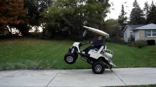 G9 GOLF CART WHEELIE