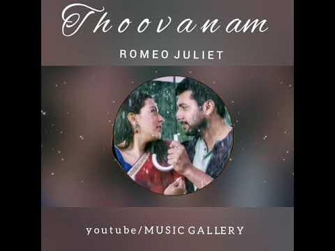 Thoovanam bgm | Romeo Juliet | WhatsApp status | Music Gallery