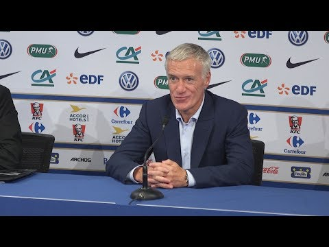 France 3-2 England - Didier Deschamps Full Post Match Press Conference