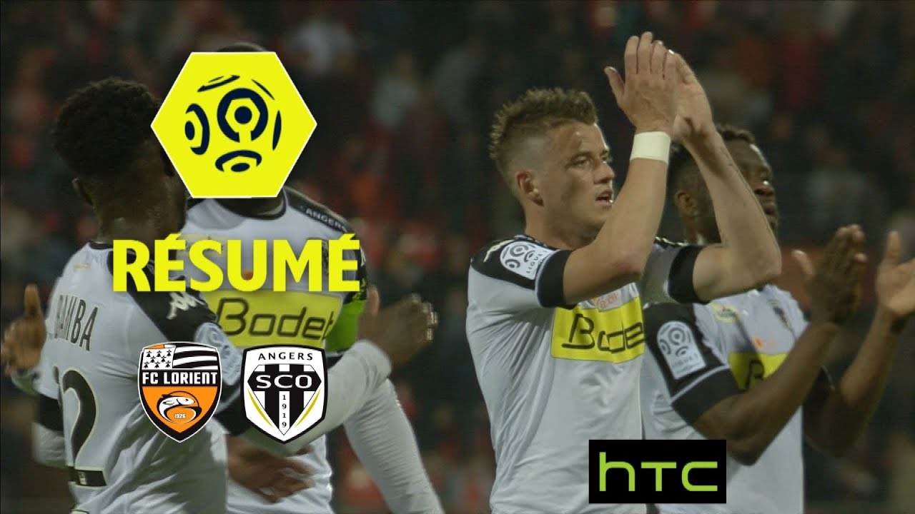 Coloriage Foot Sco Angers.Fc Lorient Angers Sco 1 1 Resume Fcl Sco 2016 17 Youtube