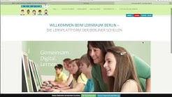 Lernraum Erklärvideo 1: Wie erstelle ich ein Benutzerkonto beim Lernraum Berlin?