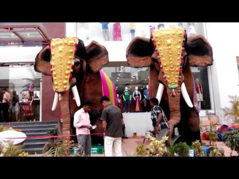 ARRS Silks Hosur, Robotic Giant Elephants