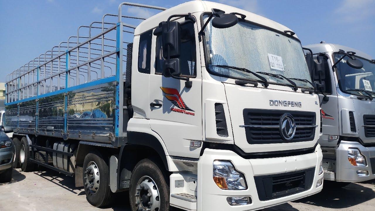 xe tải Dongfeng Hoàng Huy 4 chân YC310 nhập khẩu