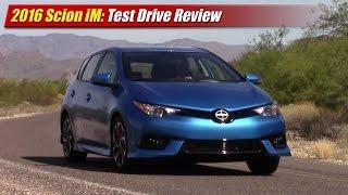 2016 Scion iM Test Drive Review