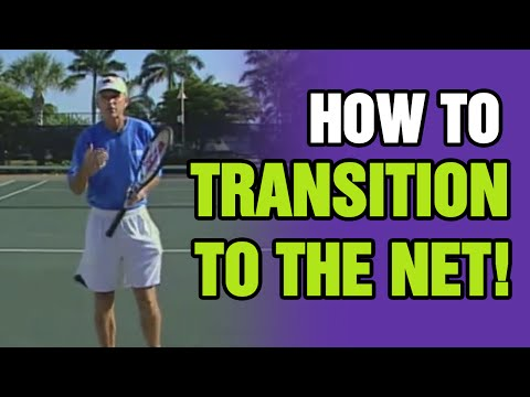 Tennis Lessons - How To Transition To The Net - Tom Avery Tennis 239.592.5920