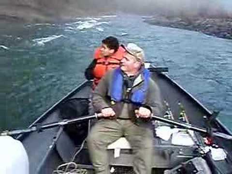 Siletz river fishing waterfall youtube for Siletz river fishing report
