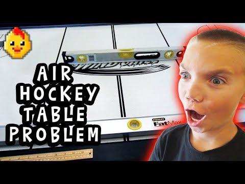 Brunswick Windchill Air Hockey Table - Problems (Family Vlog 6/24/2018)