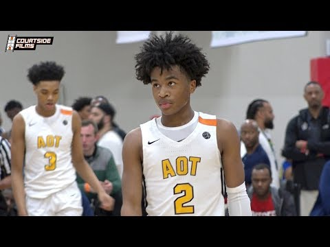 Sharife Cooper Single Game Highlights @ EYBL Indy | 21 Points and 12 Assists!