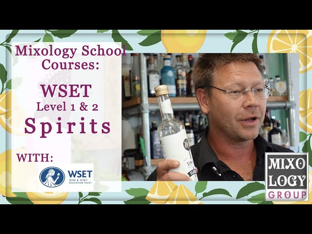 WSET Level 1 & 2 in Spirits Course