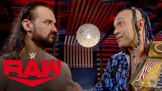 Drew McIntyre congratulates Damian Priest Raw Aug 23 2021