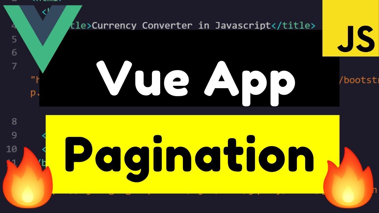 Build Simple Vue.js Pagination Using jw-vue-pagination Library